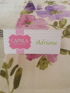 Baby shower Camila vintage