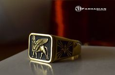 Every piece of jewelry tells a story here #FarhadianGold #Lamassu_classic ----------------- 18k gold ~ 12  grams world wide shipping Free USA shipping ------------------------- Place your order at www.farhadiangold.com Or Contact us +1(818)818-0595 -------------------------- #FarhadianGold #Ashour #jewelry #gold #18k #Fashion #style #attraction #assyrian #ashour #ringselfie #glendale #best_of_glendale #amirfashion ##burbank #armenian_jeweler #design