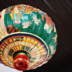 Peranakan Lantern by Vivian Chew Style Asiatique, Chinese Paper Lanterns, Paper Umbrellas, Oriental, Lantern Lamp, Chinoiserie Chic, Asian Decor, Chinese Culture, Chinese New Year