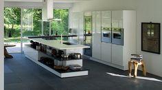 Muebles lacados en beige www.lovikcocinamoderna.com muebles de cocina en Madrid al mejor precio