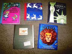 Robert Sabuda Pop Up Books Lot of 5 Narnia Alice America Christmas Dinosaurs