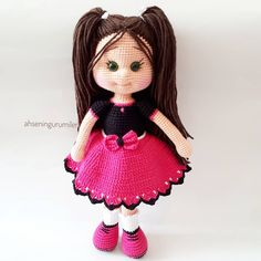 Diy Crochet Knitted Dolls Crochet Dolls Crochet Hats Kids And Parenting Amigurumi Doll Girl Dolls Crochet Projects Doll Clothes Crochet Dolls Free Patterns, Crochet Doll Pattern, Amigurumi Patterns, Doll Patterns, Crochet Disney, Diy Crochet, Crochet Baby, Baby Girl Dolls, Knitted Dolls