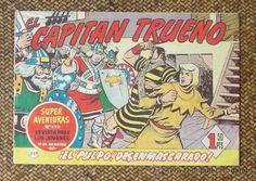 Capitan Trueno nº 259. Original