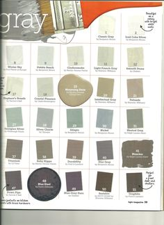 HGTV Magazine Shades of Grey Page 2 @Kayla Barkett Barkett Barkett Barkett McIntire