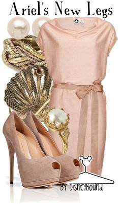 """""""Ariel's New Legs"""" by lalakay ❤ liked on Polyvore"""