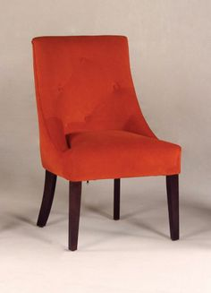 Rust Contemporary Chair, Available at HomeGalleryStores.com