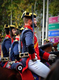 guardia civil de España. Día de la Hispanidad