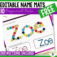 Full-proof Editable Name Tracing Activities for Preschoolers - Sea of Knowledge Preschool and kindergarten kids alike will love these Name Tracing Activities and Fine Motor Mats to learn all about letter formation, their name and more! Name Activities Preschool, Name Writing Activities, Preschool Writing, Toddler Learning Activities, Free Preschool, Kindergarten Literacy, Preschool Prep, Preschool Lessons, Alphabet Activities