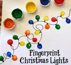 fingerprints xmas card