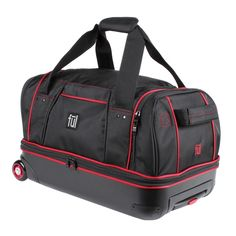 FUL 21 Duffel Bag - Black Red Duffel Bag 57322370f46e4