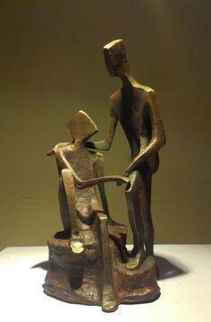 "11th - 23rd Nov.'13: Pradarshak presents ""Gossip"" Debut Solo Exhibition of Bronze Sculptures by Sushma Walavalkar-Adate."