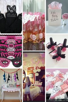 Bachelorette Party Favors and Decor - A Complete Guide to the Best Bachelorette Party - Beaux and Belles : An Event Planning Blog