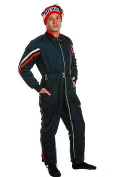 ef03ca5630 The NASA Wanna Be Vintage Ski Suit - Shinesty - 1 The Great Clothing, Mens