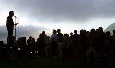 Young Life's 50th Anniversary Celebration of the Malibu Club - Gathering at Hamburger Point (C.W.Hitz 2003) #malibu #younglife #malibuclub #ylMalibu #ylMalibuclub