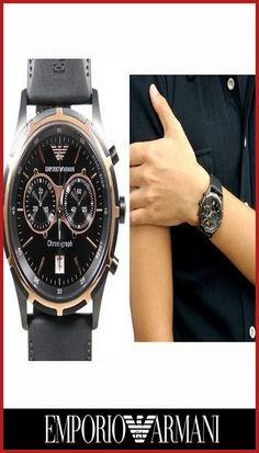 Emporio Armani Watches In Pakistan   #EmporioArmani #ManArmani