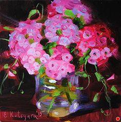 Flox Flowers by Elena Katsyura