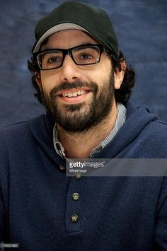 Sacha Baron Cohen at the 'Sweeney Todd' press conference at the Four Seasons Hotel on December 2007 in Beverly Hills, California.