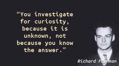 Richard Feynman - Curiosity