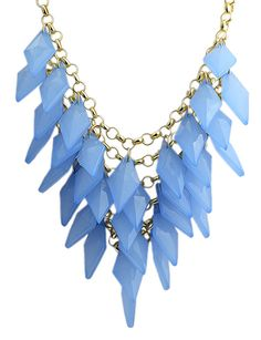 Shop Blue Rhombic Multilayer Gold Chain Necklace online. Sheinside offers Blue Rhombic Multilayer Gold Chain Necklace & more to fit your fashionable needs. Free Shipping Worldwide!