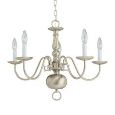 Shop Sea Gull Lighting  3410 5 Light Traditional Chandelier at Lowe's Canada. Find our selection of chandeliers at the lowest price guaranteed with price match + 10% off.