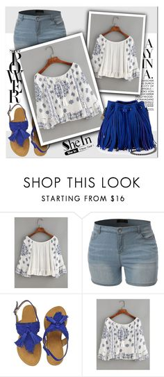 """""""Shein contest!"""" by lina-bovary ❤ liked on Polyvore featuring LE3NO, WithChic and STELLA McCARTNEY"""