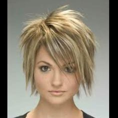Pixie Hair-great look for growing out a pixie cut!