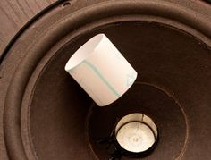 Re-foam Your Old Speakers : 18 Steps (with Pictures) - Instructables Carver Amplifier, Small Hinges, Home Theater Installation, Power Wire, Circuit Diagram, Paper Tape, Speakers, Pictures, Audio