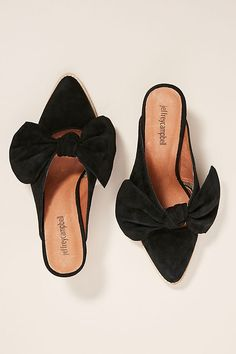 fc15edf8866 Jeffrey Campbell Cyrus Bow Mules. Anthropologie. Shoes Heels WedgesWedge ...