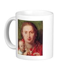 Albrecht Durer - Mary with the carnation Mug
