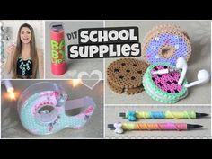 DIY School Supplies for Back-To-School // Lipstick USB, Yarn Pen & More!