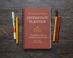 Harry Potter Planner. WANT.
