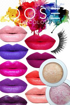 Created by an artist, Dose of Colors is the brand that color lovers can turn to for ultra-rich, high-pigment products at non-crazy prices! I discovered Dose of Colors while on the hunt for a truly purple lip color. Not magenta or plum, but real Grimace purple. Dose of Colors had several in both glosses and lipsticks. But it doesn't end there; they also make highlighters and lashes. In case you're not totally in love yet, Dose of Colors lip products are also vegan, cruelty-, gluten-, and…