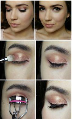 Rose Gold Eyeshadow.