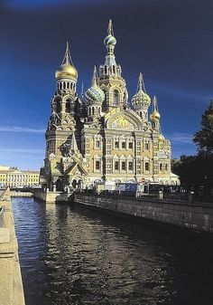 Church on Spilled Blood. St. Petersburg, Russia