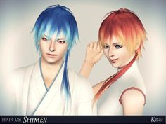 Shimeji manga lovers doll Hair by athem2310 - Sims 3 Downloads CC Caboodle