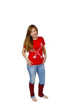 Be-Distinct.com for individual style! Who doesn't look good in red?#Fashion #WomensFashion #GirlsFashion #BeYourself #BeUnique #BeDistinct