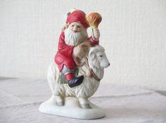 Vintage Swedish Gnome Goat Julbock Traditional by FoxBoxMarket