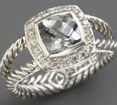 I want this Ring! <3 David Yurman!!!