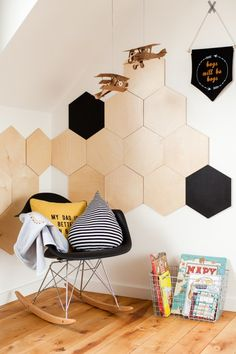 Wall decor plywood panels