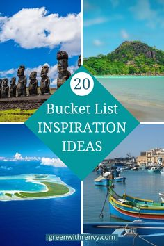Where is your dream destination? Malta, Easter Island, French Polynesia, Vanuatu are all on the list. Check out these and other Once in A Lifetime destinations around the world.