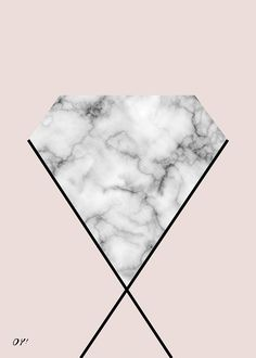 marble & diamond print society6 #diamond #kristals