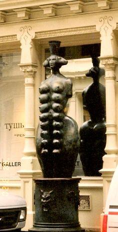 Sculpture in SoHo - New York