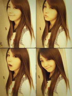 Jung Eun-ji, aegyo, yeppeuda!! #apink #selca #eunji