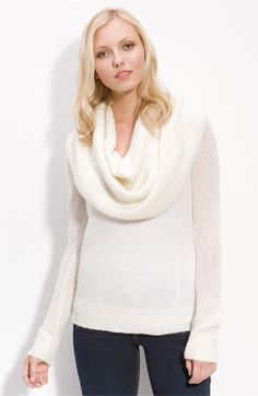 MICHAEL Michael Kors Deep Cowl Neck Sweater available at #Nordstrom