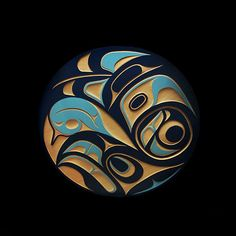 Eagle Panel Kyran Yeomans Haida Nation Inuit Kunst, Arte Inuit, Arte Haida, Haida Art, Inuit Art, Arte Tribal, Tribal Art, American Indian Art, Native American Art