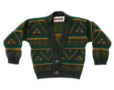 Toddler Cosby sweater (3T) http://www.etsy.com/listing/88477313/vintage-toddler-sweater-jumper-green