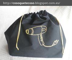 Bolsa para secador de pelo