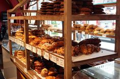 Freshly baked bread from Bouley Bakery, NYC