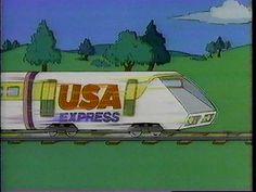 The USA Cartoon Express
