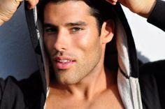 Matt Aymar by Pablo Alfaro (2011) #MattAymar #PabloAlfaro #Canadian #malemodel #model #MegaModelMgmt #hoodie